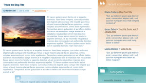 Internal Blog Page
