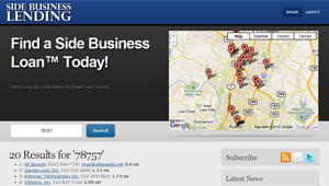 Side Business Lending Zip Code Search